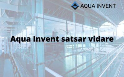 Aqua invent satsar vidare med nyheter 2020
